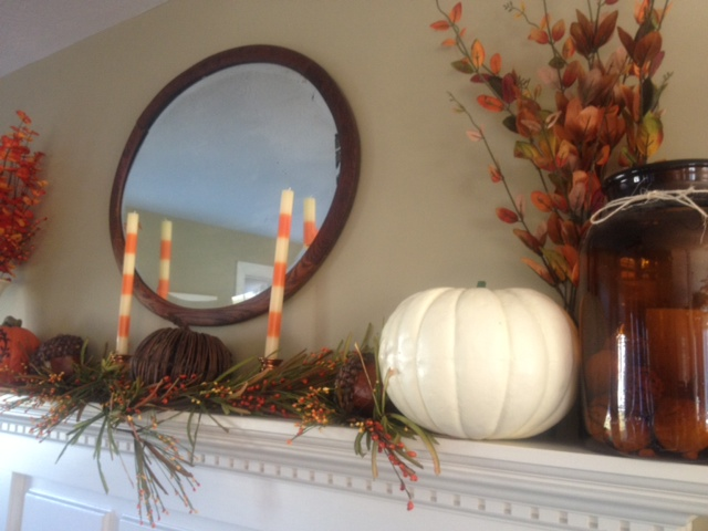 fall mantle - The Good Home