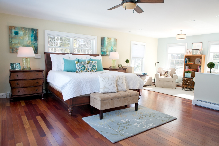 overall photo of master bedroom