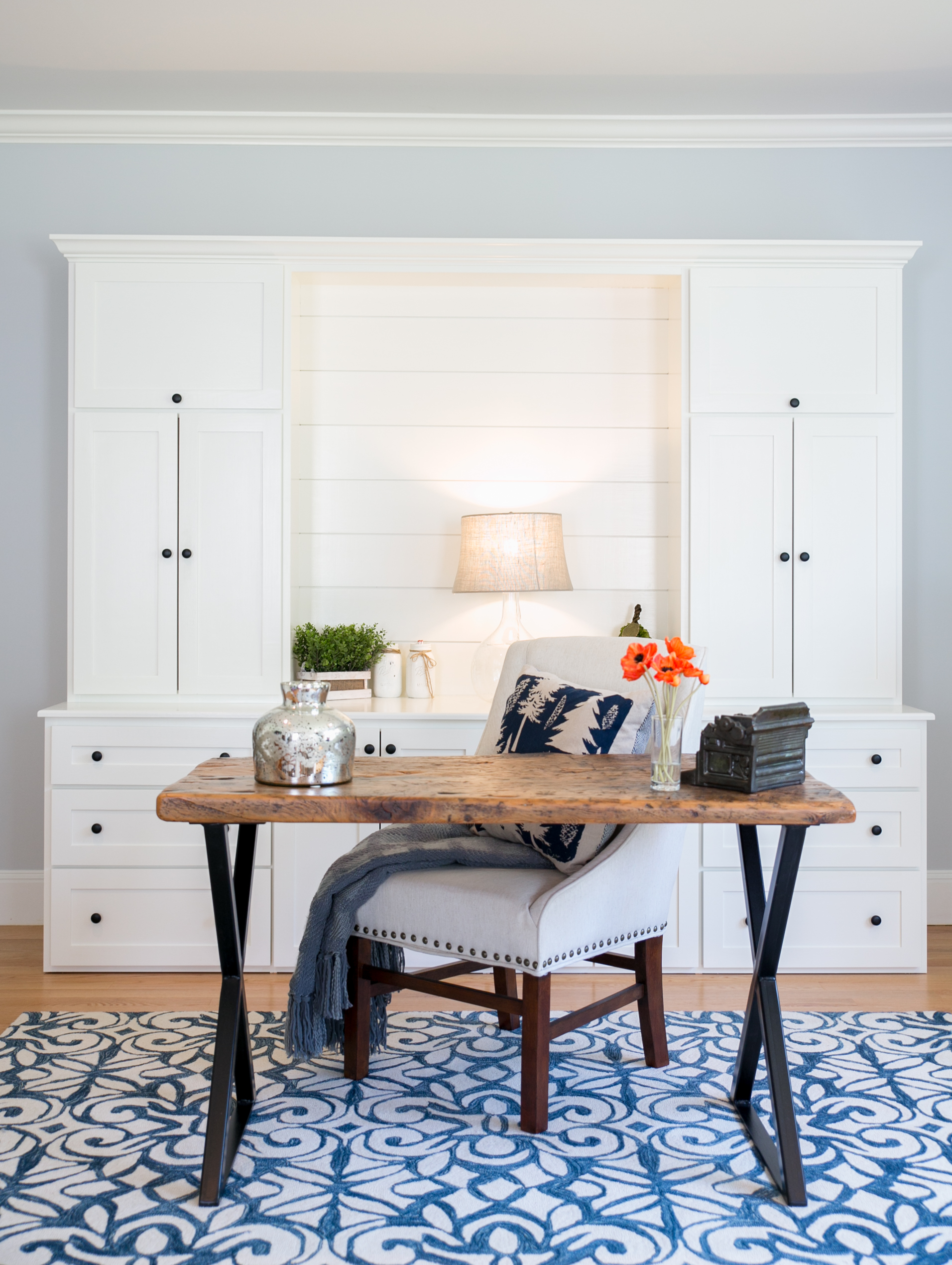 Master Bedroom Office Combo Design shiplap master bedroom and office | the good home – interiors & design