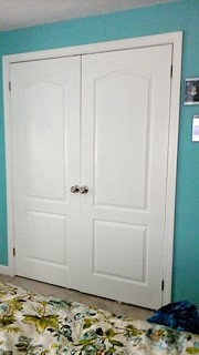 photo of closet doors