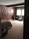 photo of dark bedroom