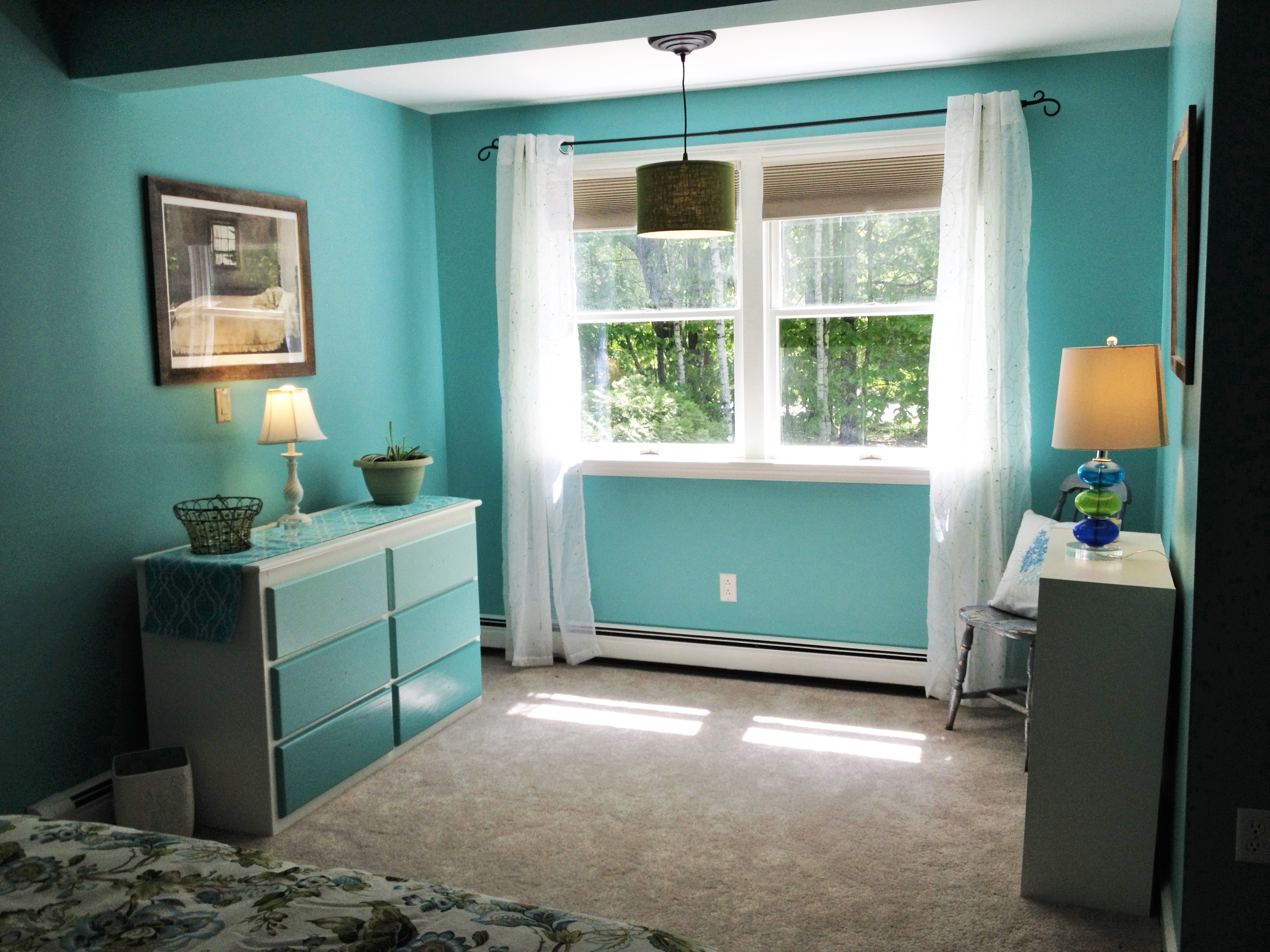 photo of sitting area in bedroom