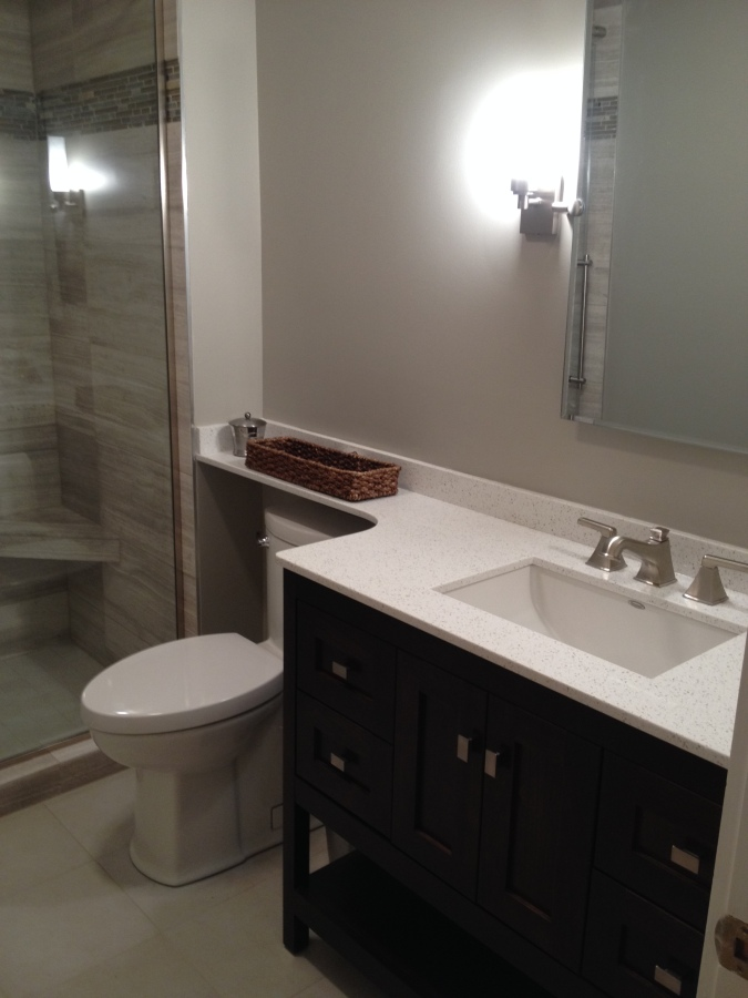 photo of guest bath