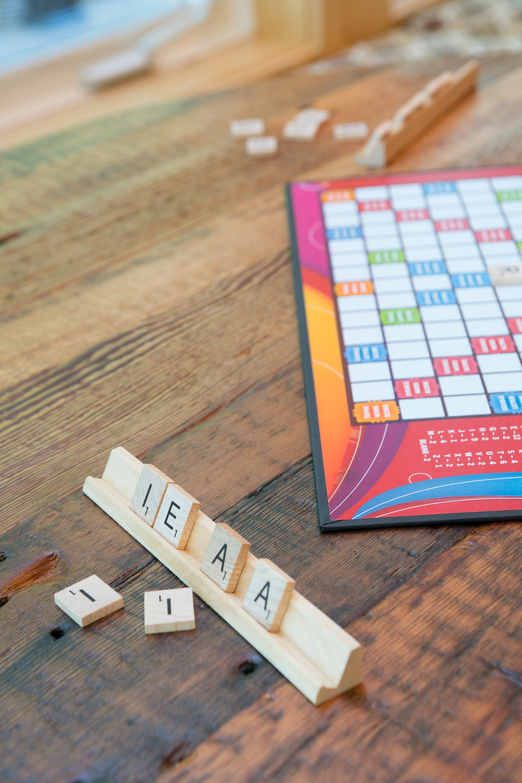 photo of barn board table top