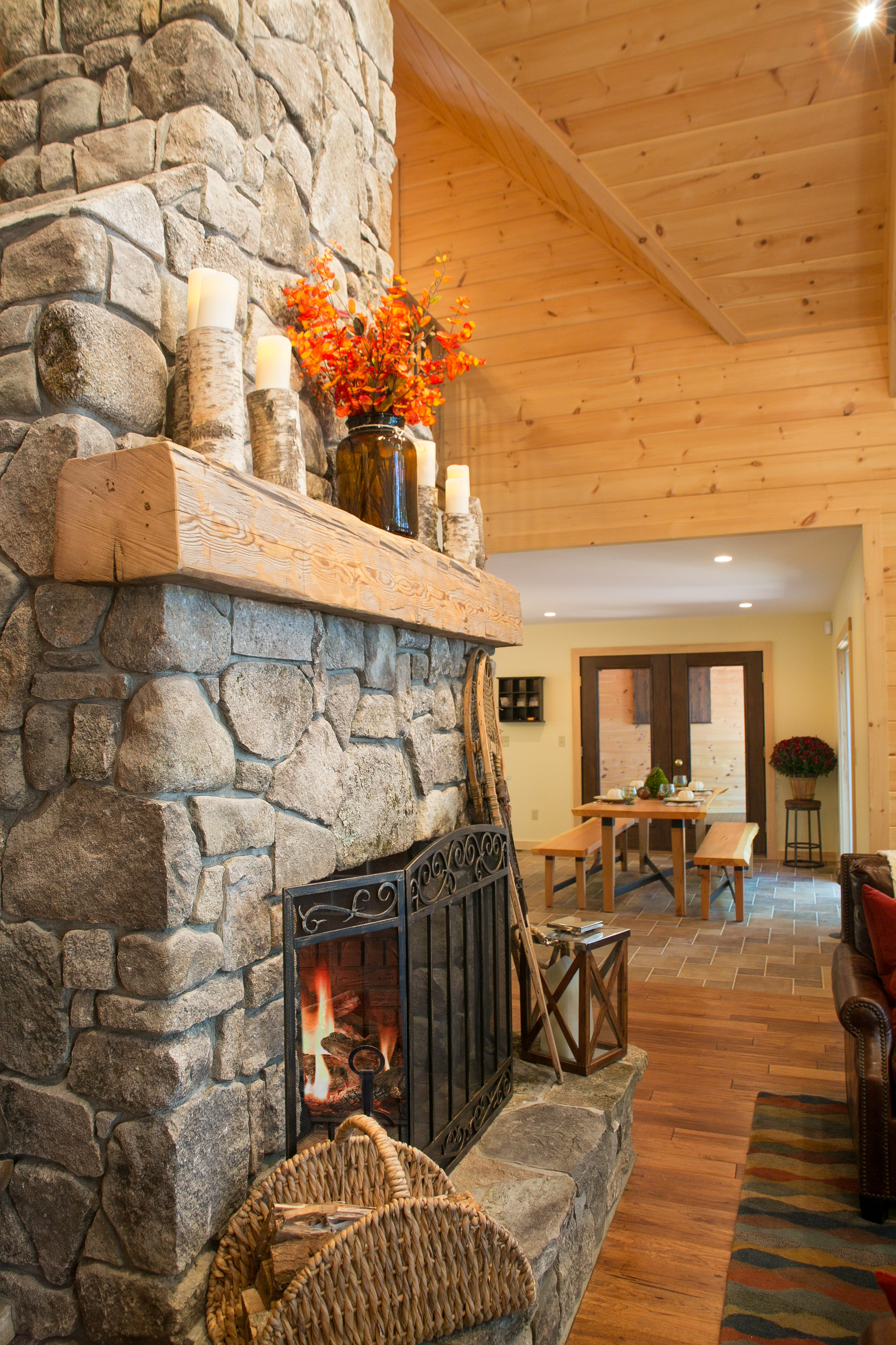 lake house stone fireplace and barn beam mantle the good home lake house stone fireplace and barn beam mantle