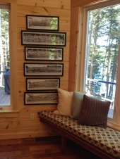 photo of window seat and photo gallery